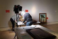 """""""Paysage avec des arbres"""" de Félix Vallotton en prêt à la Royal Academy of Arts de Londres"""