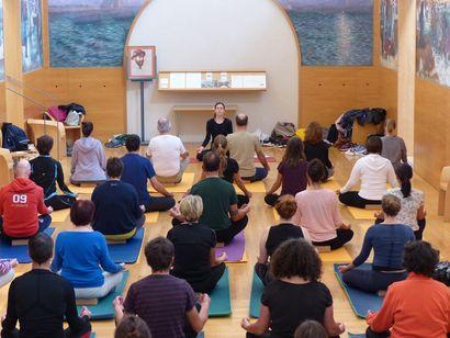 Yoga en salle Lemordant