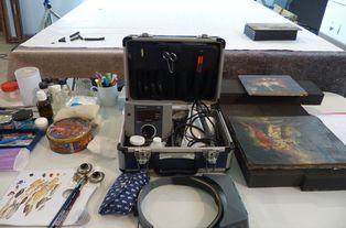 Outils pour la restauration d'art