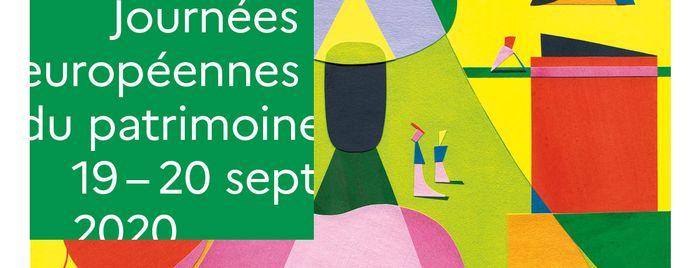 Affiche nationale des Journées européennes du patrimoine 2020 © / Jérémie Fischer