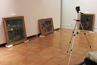 """""""Bonjour M. Gauguin"""" et 2 Sérusier du musée au Musée national de Prague"""