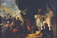 Alexandre Evariste Fragonard François 1er armé chevalier par Bayard