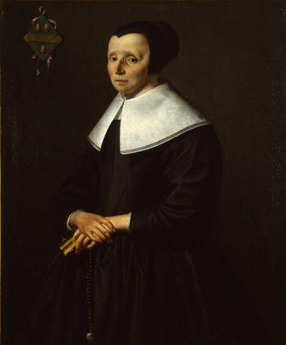 Anonyme hollandais Portrait de Maddaleentje Coetenburgh
