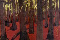 Georges Lacombe_La Forêt au sol rouge