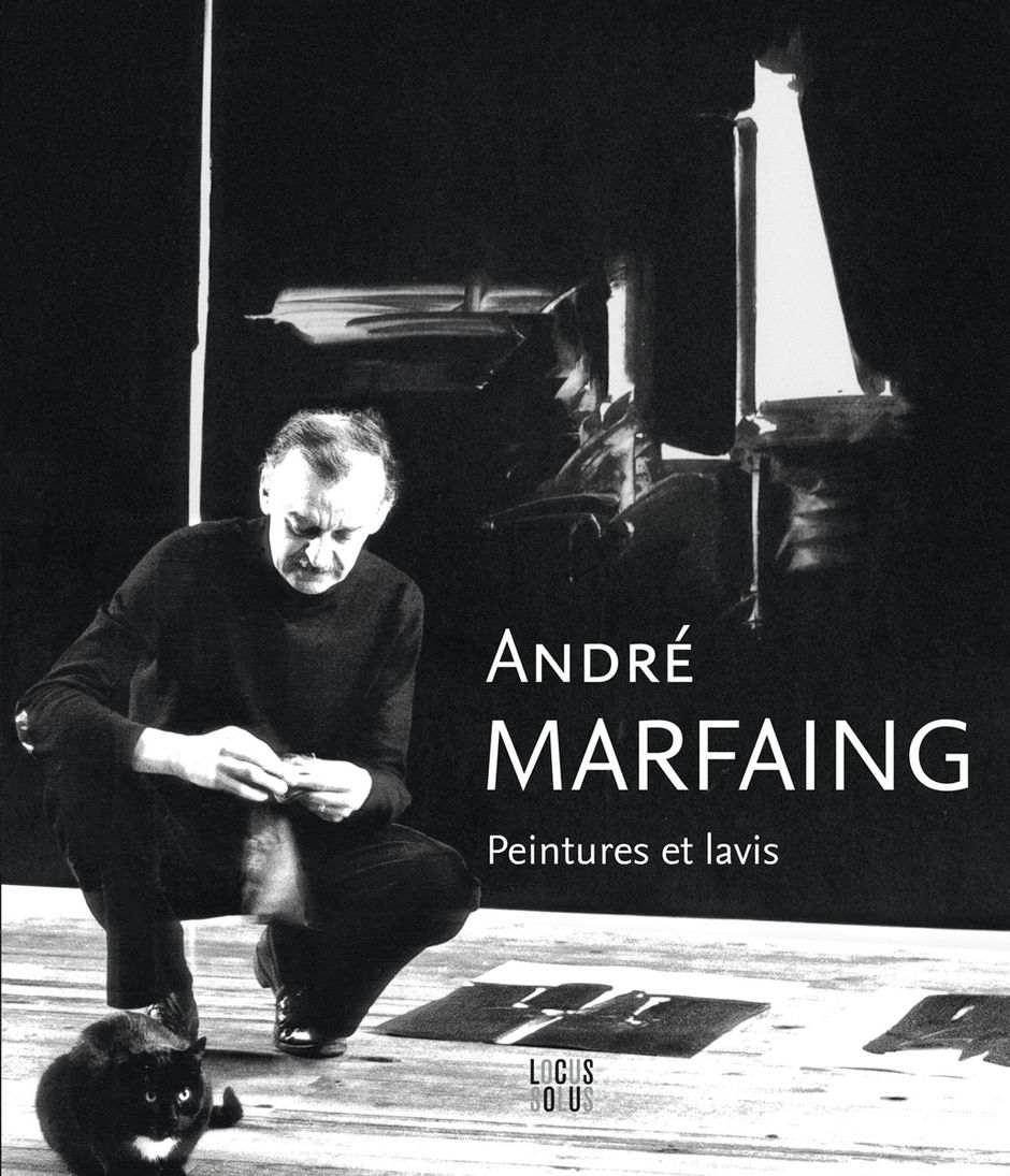 Couverture du catalogue de l'exposition consacrée à André Marfaing (See the caption hereafter)
