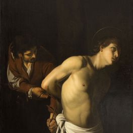 Le Caravage, Saint Sébastien attaché par un bourreau