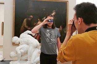 Prise de vue pour la réalisation d'une vidéo promotionnelle du musée