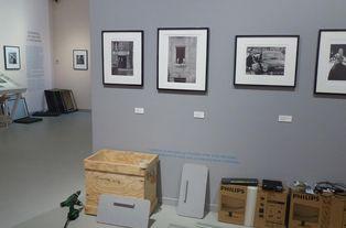 Démontage de l'exposition Robert Doisneau