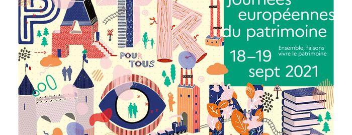 Visuel national des Journées européennes du patrimoine 2021