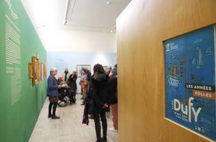 """Visite guidée de l'exposition """"Raoul Dufy, les années folles"""" © Pascal Pérennec / Ville de Quimper et QBO"""