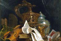 Nicolas de Largillière (1695-1700) Nature morte avec instrument de musique