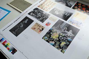 """Photogravure aux éditions Liénart du catalogue """"Raoul Dufy, la mode des Années folles"""""""