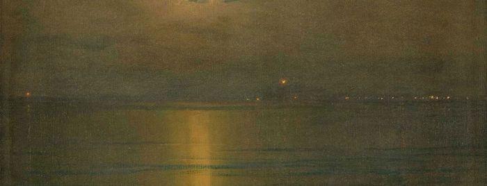 Thomas Alexander Harrison Marine la nuit